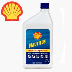 Shell Nautilus 2-Cycle TC-W3 Engine Oil