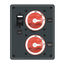 DC Parallel Circuit Battery Switch Panel from Blue Sea Systems