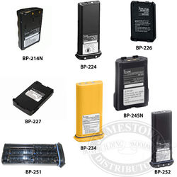 Icom Replacement VHF Radio Batteries