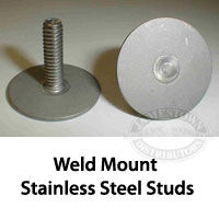 Weld Mount Stainless Steel Studs