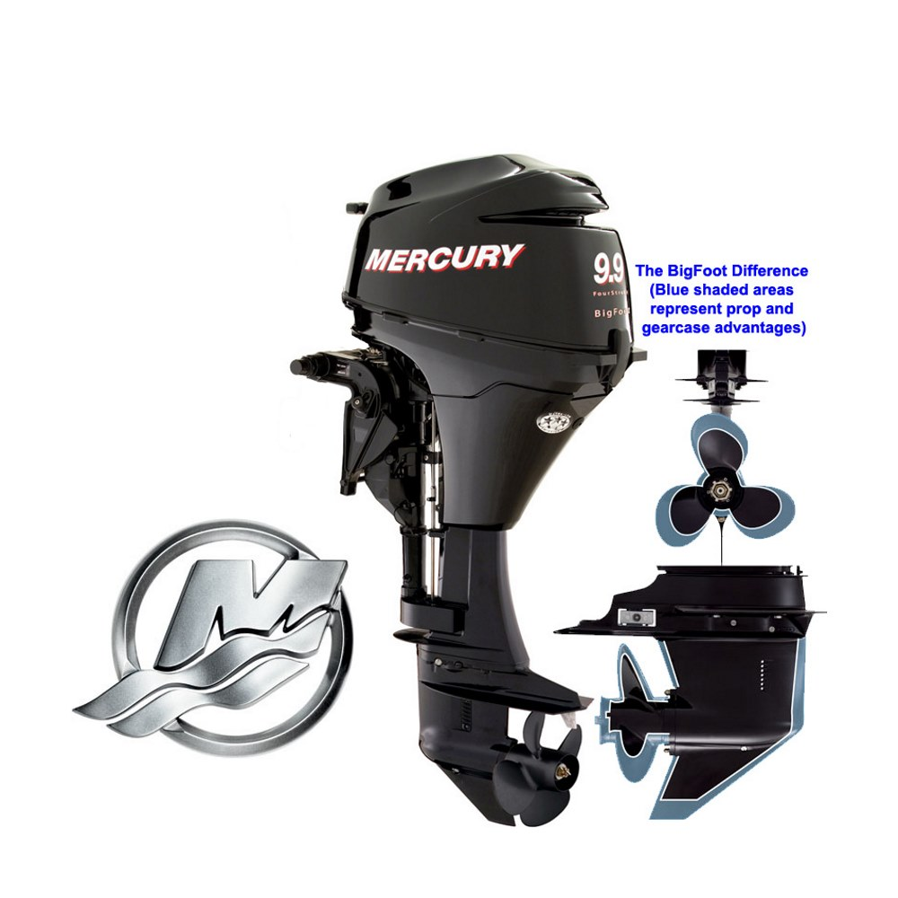 mercury 9 9 hp bigfoot 4 stroke outboard motor rh jamestowndistributors com mercury  9 9 bigfoot wiring diagram