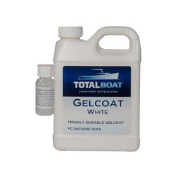 TotalBoat White Gelcoat with Wax