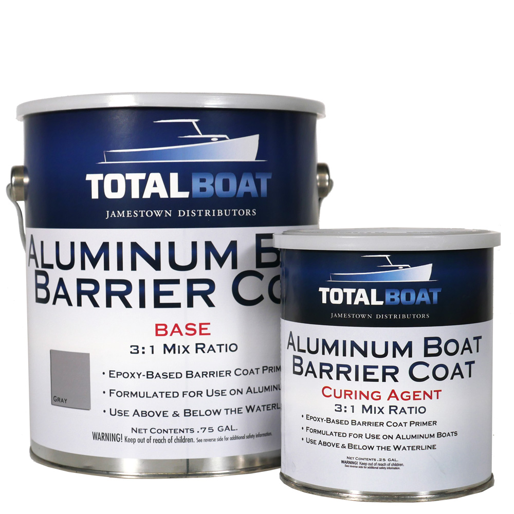 Totalboat Aluminum Boat Barrier Coat Epoxy Primer