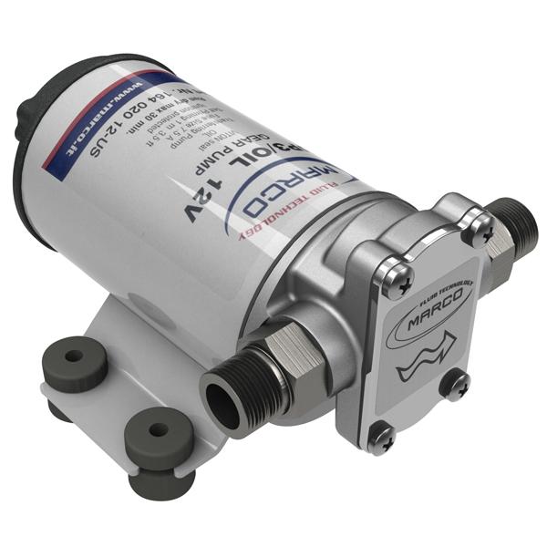 12 Volt Diesel Transfer Pump Low Viscosity Oil Fill Empty Engine