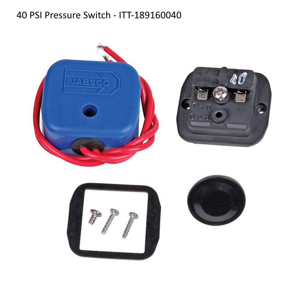 Jabsco Pump Replacement Pressure Switches on