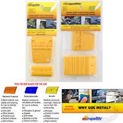 ScrapeRite Acrylic Plastic Razor Blades