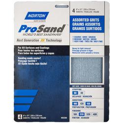 Norton ProSand 9 in x 11 in Sanding Sheet Packs