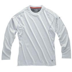 Gill UV Tec Long Sleeve Shirt in silver