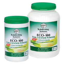 Teakdecking Systems ECO Teak Cleaner Powder