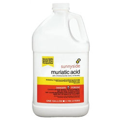 Muriatic acid hydrochloric acid for Hydrochloric acid for cleaning concrete