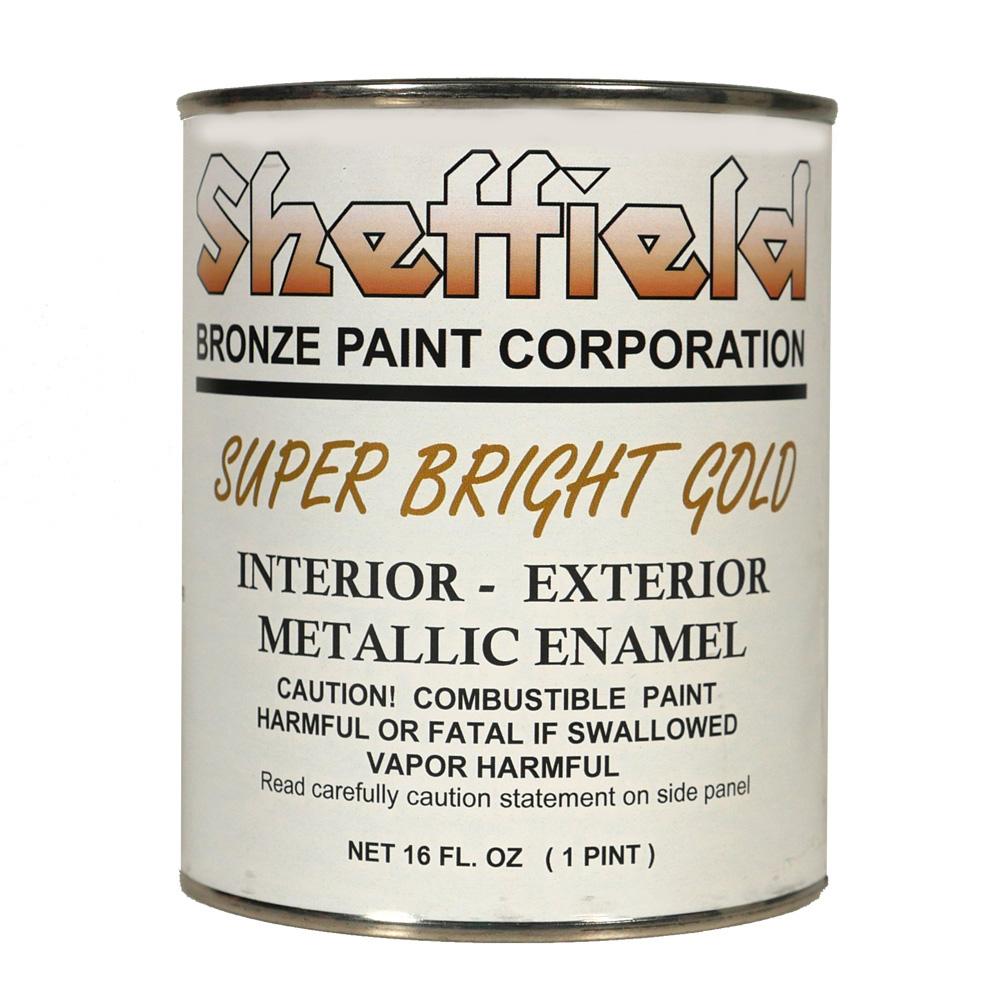 Sheffield Super Bright Gold Metallic Boat Lettering Paint