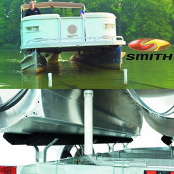 CE Smith Pontoon Boat Trailer Post Guide Ons