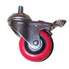casters, castors, wheels, stem, locking casters