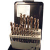 21 Piece Drill Sets - Regular & Split Point drill bit kits 