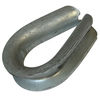 galvanized thimbles, wire crimping, rope splicing thimbles