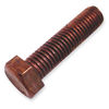 5/8-11 Full Thread Bronze Hex Cap Screws, hex head cap bolts made of silicon bronze