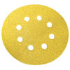 Norton - Gold 290 Discs - Hook and Loop - 5 Inch x 8 Hole