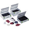 Festool Systainers with inserts for Abrasives