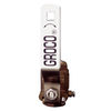 Groco Bronze In-Line Ball Valve, Seacock attachment