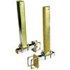 Shock Absorbing Boat Trailer Guides