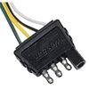 Wesbar - 4-Way Electric Wire Harness Connector - Trailer End - wunside