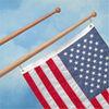 Whitecap Teak Flag Poles