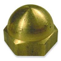 Brass Acorn Cap Nuts