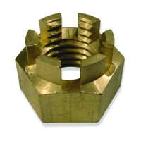 brass castle nuts, the ultimate locking nut