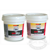 System Three Silvertip Metl Weld epoxy for steel and aluminum