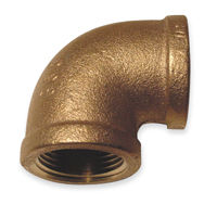 90 Degree Elbow Fittings - Bronze, NPT