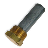 Camp Pencil Zinc Anodes with Brass Cap