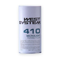 West System 410 Microlight Filler, fairing compound