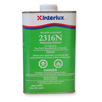 interlux 2316 reducing solvent