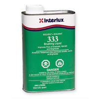Interlux Brushing Liquid 333 for making paint flow