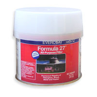 Evercoat Formula 27 extra white plastic filler