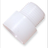 Rule 68 Garden Hose Adapter for thru-hulls and bilge pumps - 1 1/8 to 1 N. P.T.
