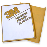 3m gold sandpaper sheets, 216U