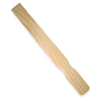 Wooden paint stir sticks