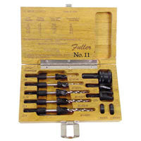 fuller #11 countersink and drill bit quick change set