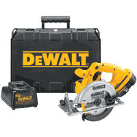 Dewalt DC390K Circular Saw 18 Volt Kit