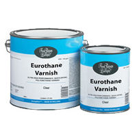 Eurothane Varnish, urethane interior and exterior varnish, marine varnish
