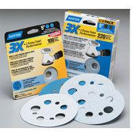 norton 3x 5 inch sanding discs, abrasive sandpaper disk