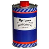 Epifanes thinner for PP Varnish