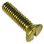 #10-24 Brass Machine Screws FH