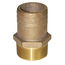 Groco Pipe-to-Hose Straight - Full Flow - Bronze, NPT