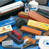 Tool sharpening, tool sharpening stones and wheels