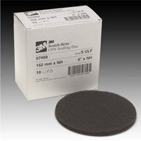 3M Scotch Brite S ULF Gray 6 Inch Scuffing Disc
