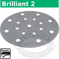 Festool StickFix Brilliant 2 - 6 inch Discs for RO 150 and ETS 150 Sanders