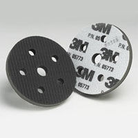 3M Hookit Interface Pads 5 inches x 5 Holes 05773