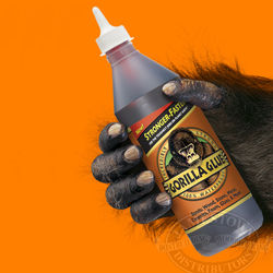 Gorilla Glue is now a stronger and faster setting wood glue adhesive
